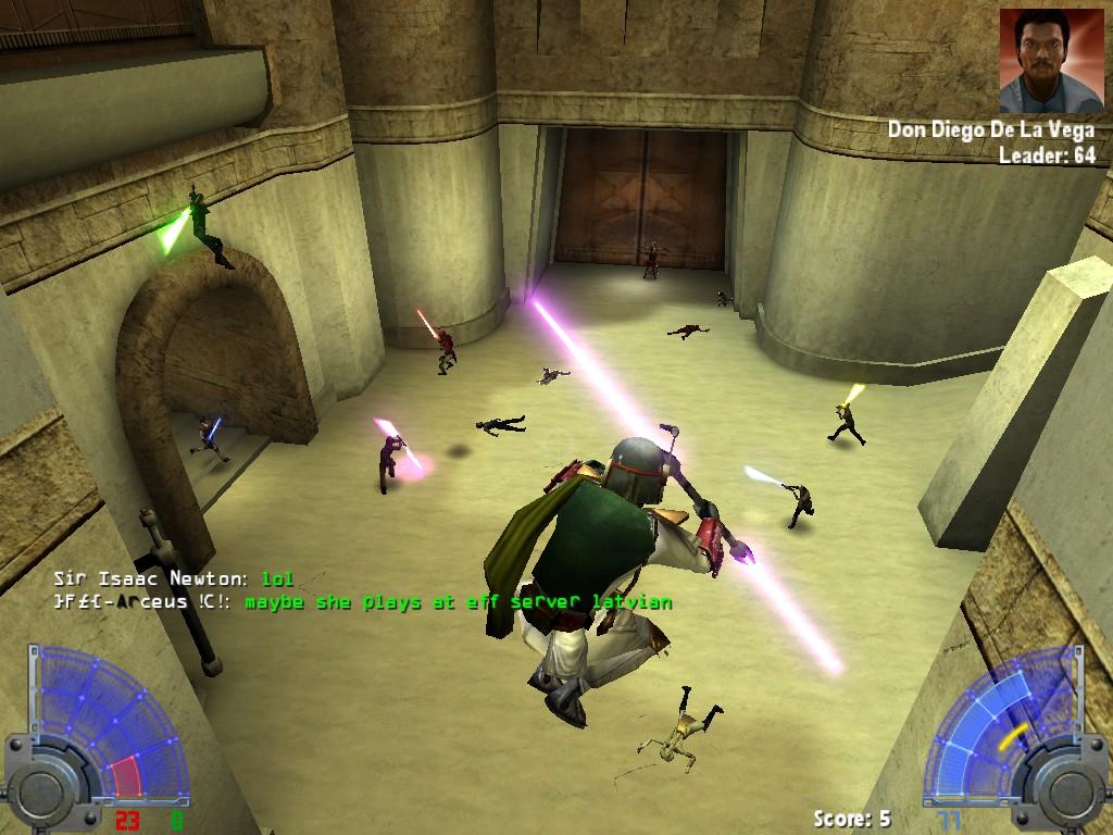 Jedi Academy MP