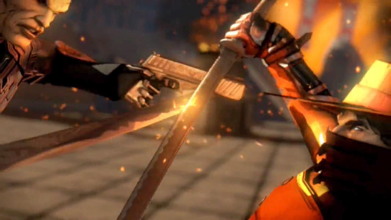 Red Steel 2 showdown
