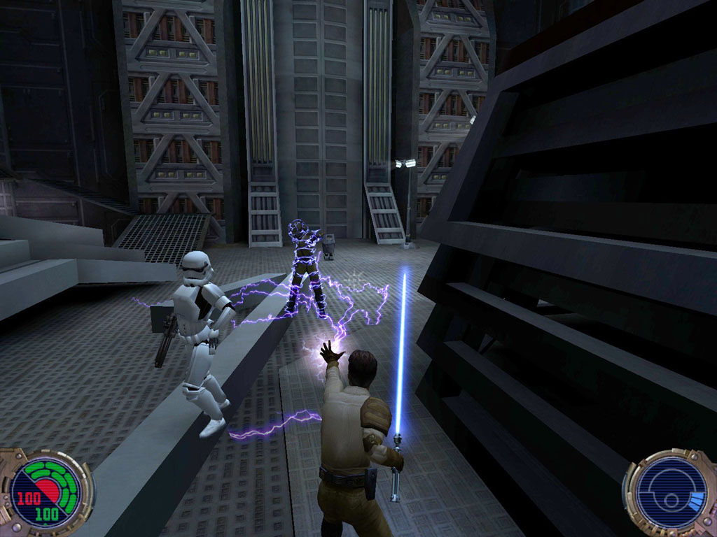 Jedi Knight 2 lightning