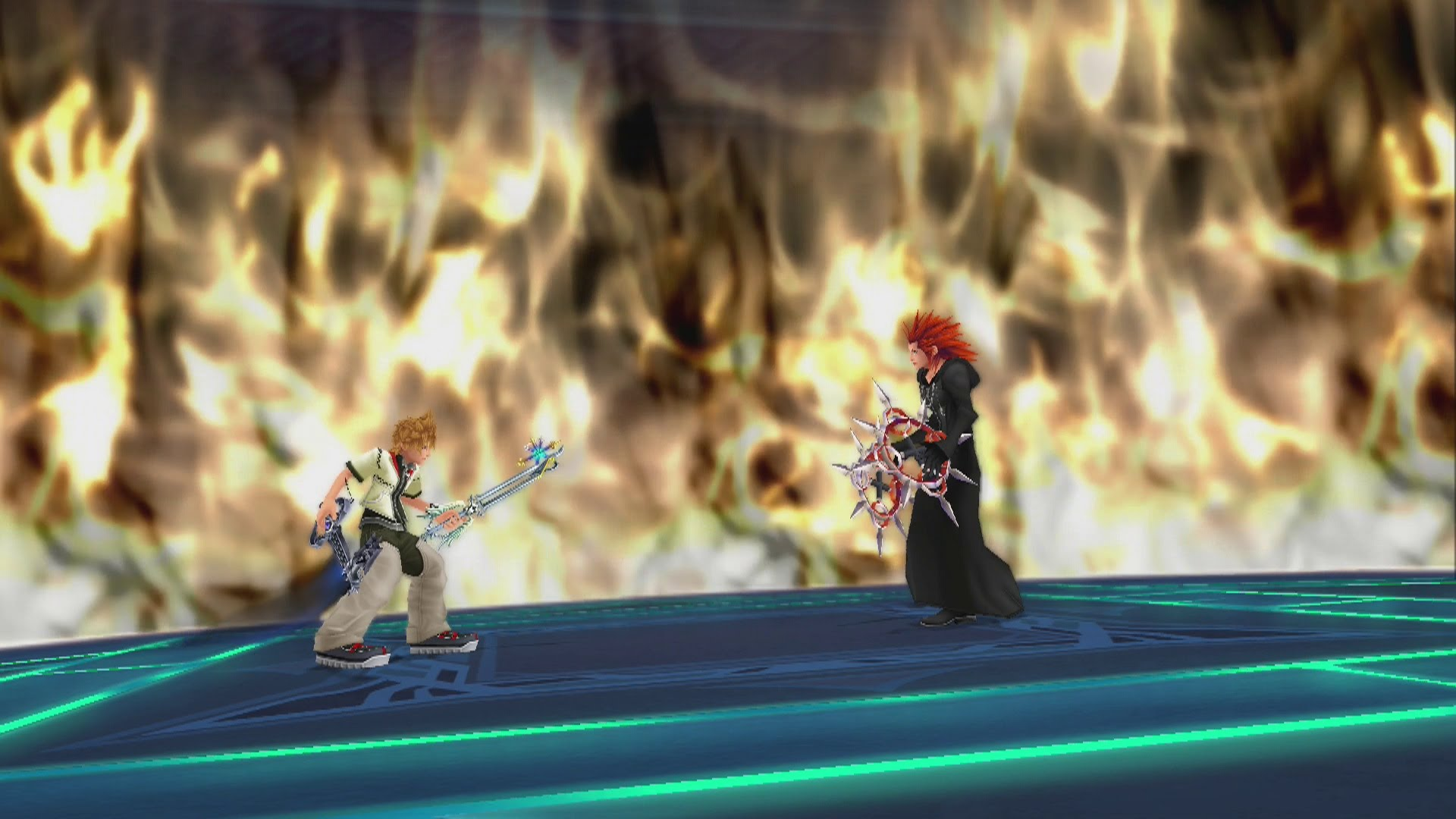 Axel showdown