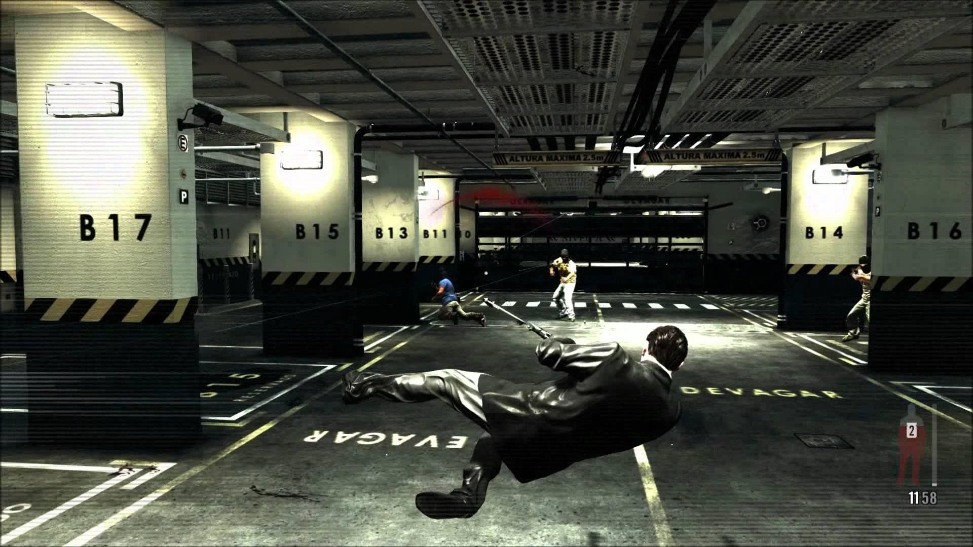 Max Payne dive