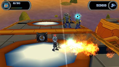 Secret Agent Clank Fire